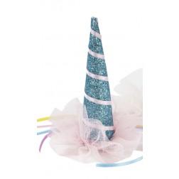 Unicorn Hat blau