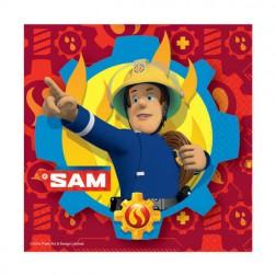 Servietten Feuerwehrmann Sam 20 Stück