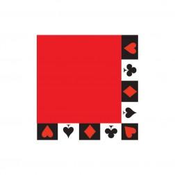 Poker Party - 16 Servietten