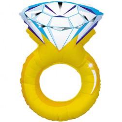 Folienballon Diamond Ring 94cm