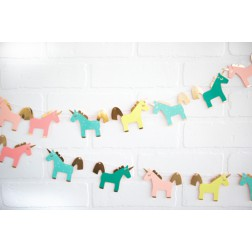 Mini Unicorns Banner 2,4m