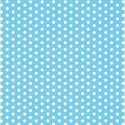 Servietten Polka Dots blau weiß 20 Stück