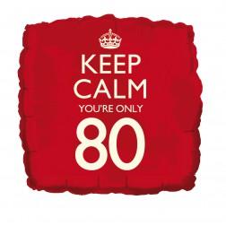 Folienballon Keep Calm 80