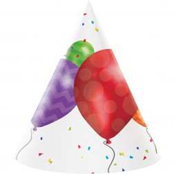 Party Hüte Luftballons 8 Stück