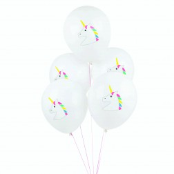 Luftballons Unicorn 5 Stück