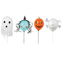 Halloween Character Balloons Set