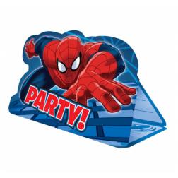 Spider Man Einladungskarten 8 Stück