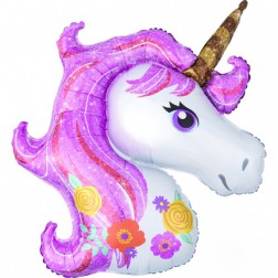 Folienballon Magical Unicorn 83cm