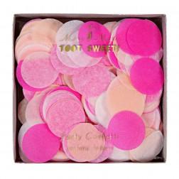 Konfetti Rosa Weiß Vanille Pink