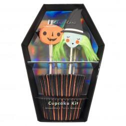 Halloween Cupcake 48 Set