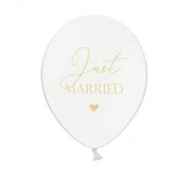 Luftballons Just Married 6 Stück 30cm