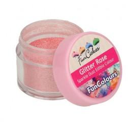 Essbare Farbpulver Sparkle Dust Glitter Rose