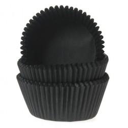 Cupcake Backförmchen schwarz 50 Stück