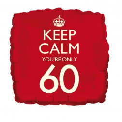 Folienballon Keep Calm 60