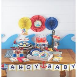 Partybox für 8 Gäste Baby Ahoy