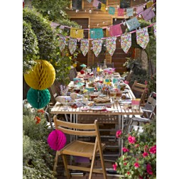 Partybox für 8 Gäste Floral Fiesta Party