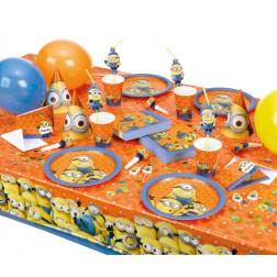 Partybox für 8 Gäste Minions Party