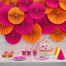 Partybox für 8 Gäste Neon Party