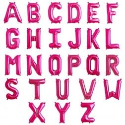 Buchstaben Air Folienballons von A bis Z magenta