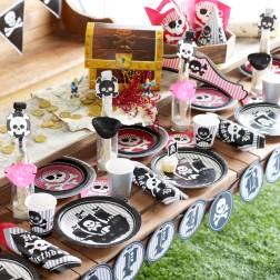 Partybox für 8 Gäste Piraten Party