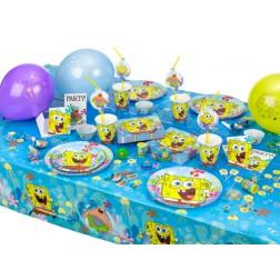 Partybox für 8 Gäste Spongebob Party