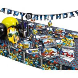 Partybox für 8 Gäste Transformers Party