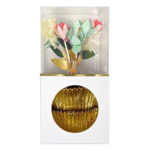Cupcake Kit Flower Bouquet