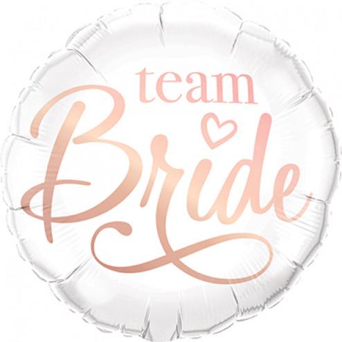 Folienballon Team Bride 46cm