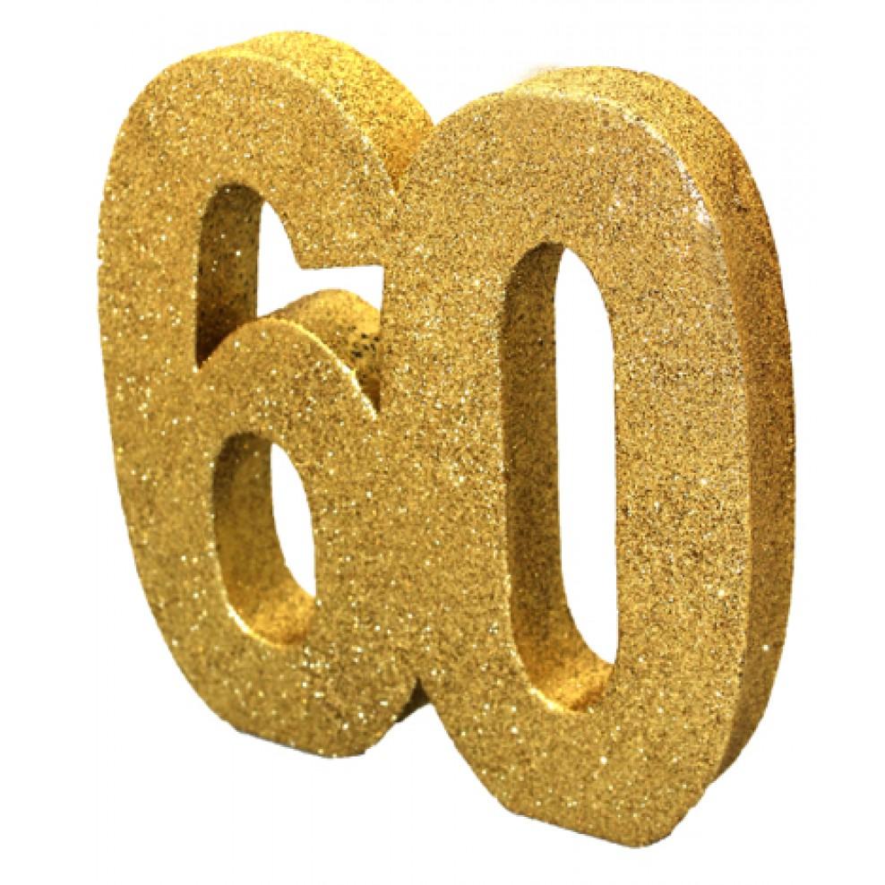Tisch Deko 60 Geburtstag Gold