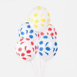 Luftballons Superhero 5 Stück