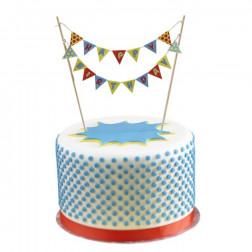 Torten Girlande - Happy Birthday