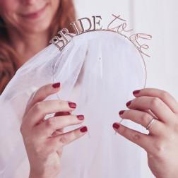 Bride To Be Haarreif mit Schleier