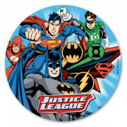 Tortenaufleger Oblate Justice League Batman 20cm