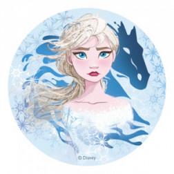 Tortenaufleger Oblate Frozen II Eiskönigin Elsa 20cm