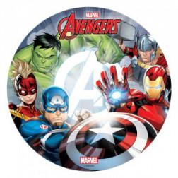 Tortenaufleger Oblate Marvel Avengers 20cm