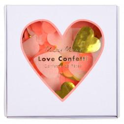 Konfetti Love Herz mix