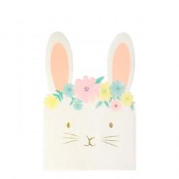Servietten Floral Bunny 16 Stück