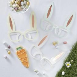 Brille Bunny 8 Stück