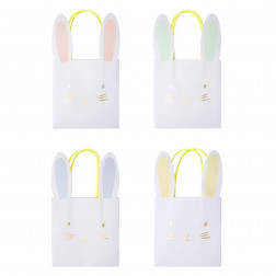 Pastel Bunny Party Bags 8 Stück