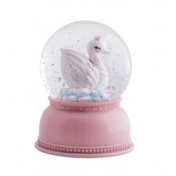 Schneekugel Swan