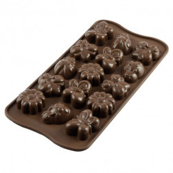 Silikomart Chocolate Mould Springlife
