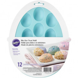 Wilton Silicone Petite Treat Mold Egg