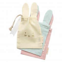 Stoff Tüten Pastel Bunny 3 Stück