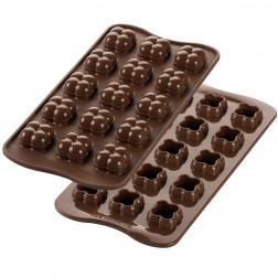 Silikomart Schokoladenform Choco Game