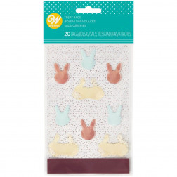 Wilton Mini Treat Bags Bunny 20 Stück