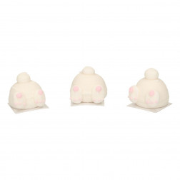 Bunny Butts 3D Zuckerdekor 3 Stück