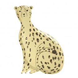 Pappteller Safari Gepard 8 Stück