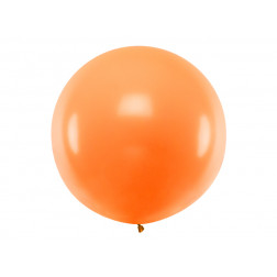 Riesenballon Orange 1m