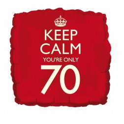 Folienballon Keep Calm 70