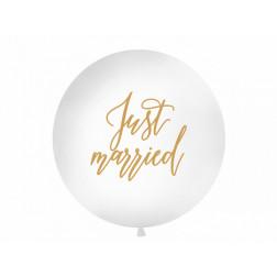Riesenballon Just Married 1m